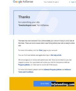 Google AdSense Account Rejected
