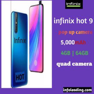 Infinix hot 9 rumor specifications