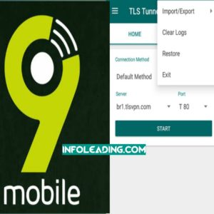 9mobile 2.5GB SocialPak Cheat Using TLS Tunnel VPN