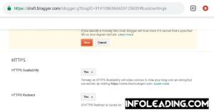 Blogger custom domain not opening on Glo Network 1