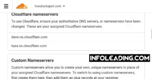 Blogger custom domain not opening with Glo network Cloudflare nameservers