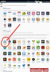 Find WordPress in Cpanel