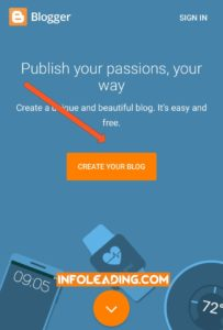 Create a free blog on how to start a free blog on blogspot or blogger