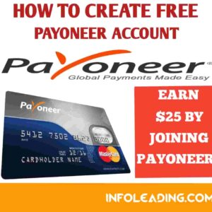 How to create free payoneer account