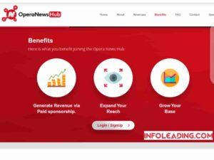 Opera news hub benefits