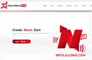 Opera news hub sign up