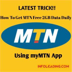 MTN free 2GB data