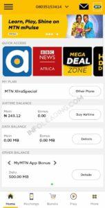 myMTN App bonuses